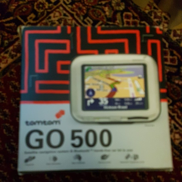 Excellent condition GPS TomTom navigator