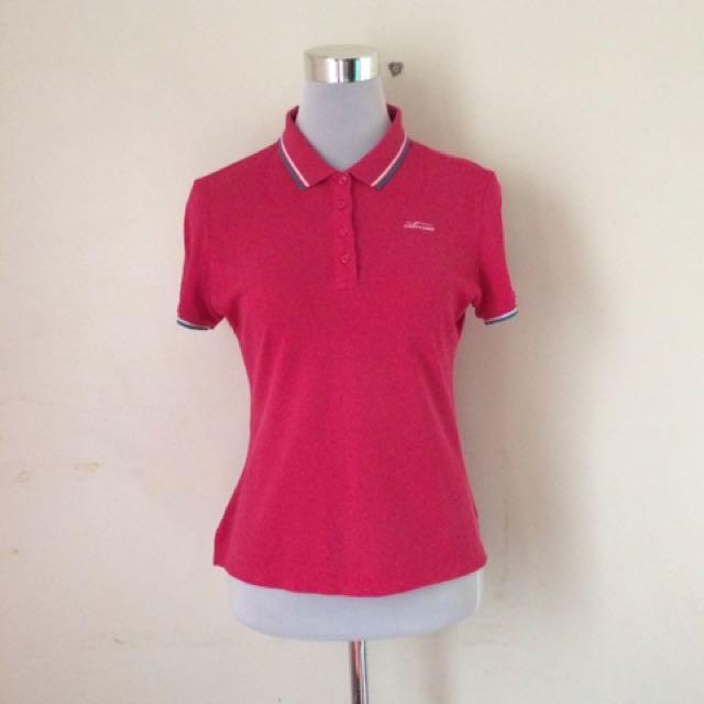 Fantom Hot Pink Polo Shirt