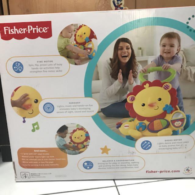 Fisher price musical lion walker, Bayi & Anak, Mainan Anak & Bayi di Carousell