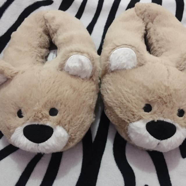Forever 21 Teddy Bear night time shoes