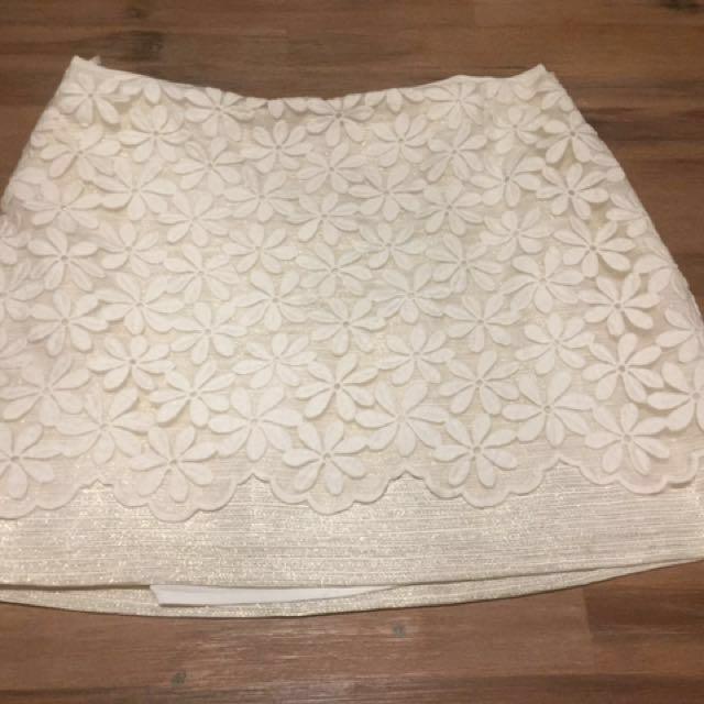 Forever New Lace Skirt Size 14