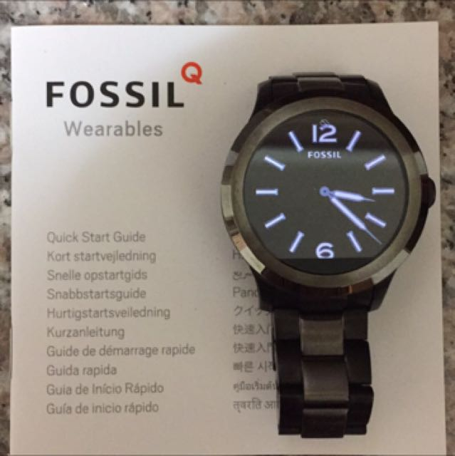 FOSSIL智慧手錶
