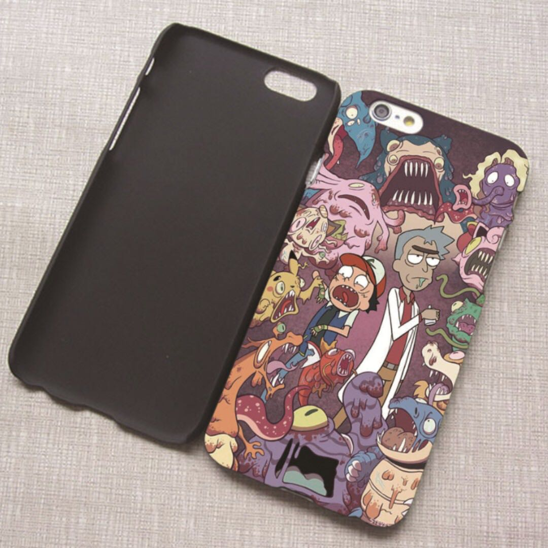 new product fa30d ef56a [FREE DELIVERY] Rick and Morty Phone Case / Cover