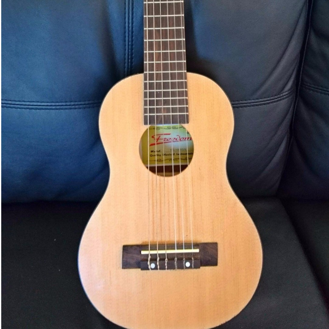 Freedom 6 String Electric Acoustic Guitar-Ukulele Hybrid