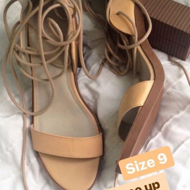 Glassons heels
