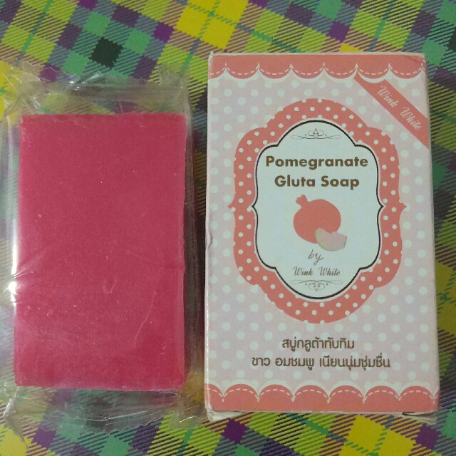 Gluta Pomegranate Soap