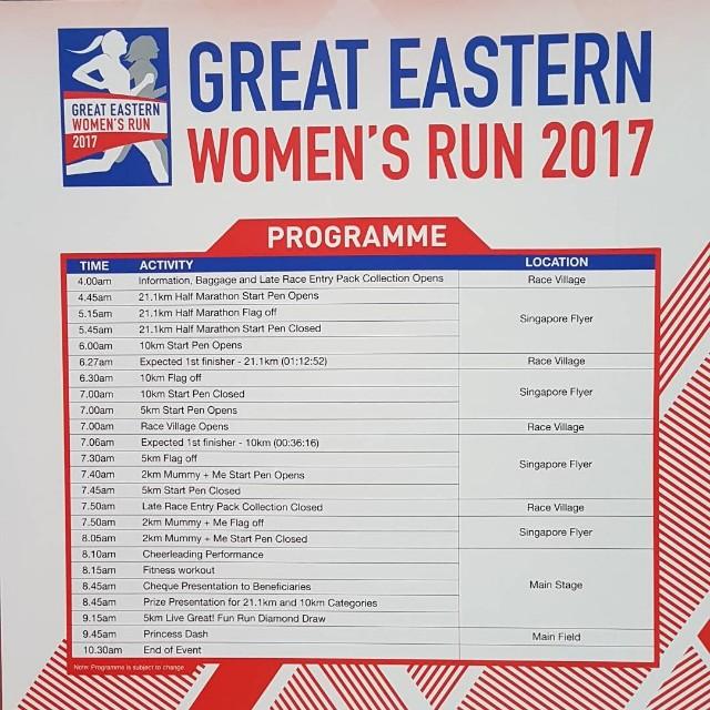 Great Eastern Woman Run 2017