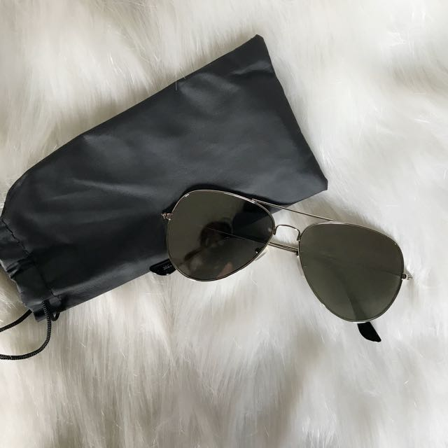 Gunmetal Mirror Sunglasses