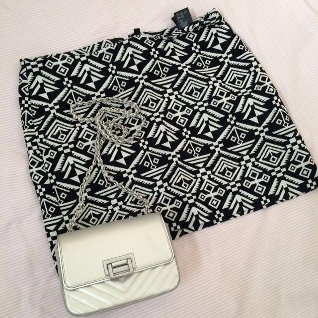 H & M Skirt etnik
