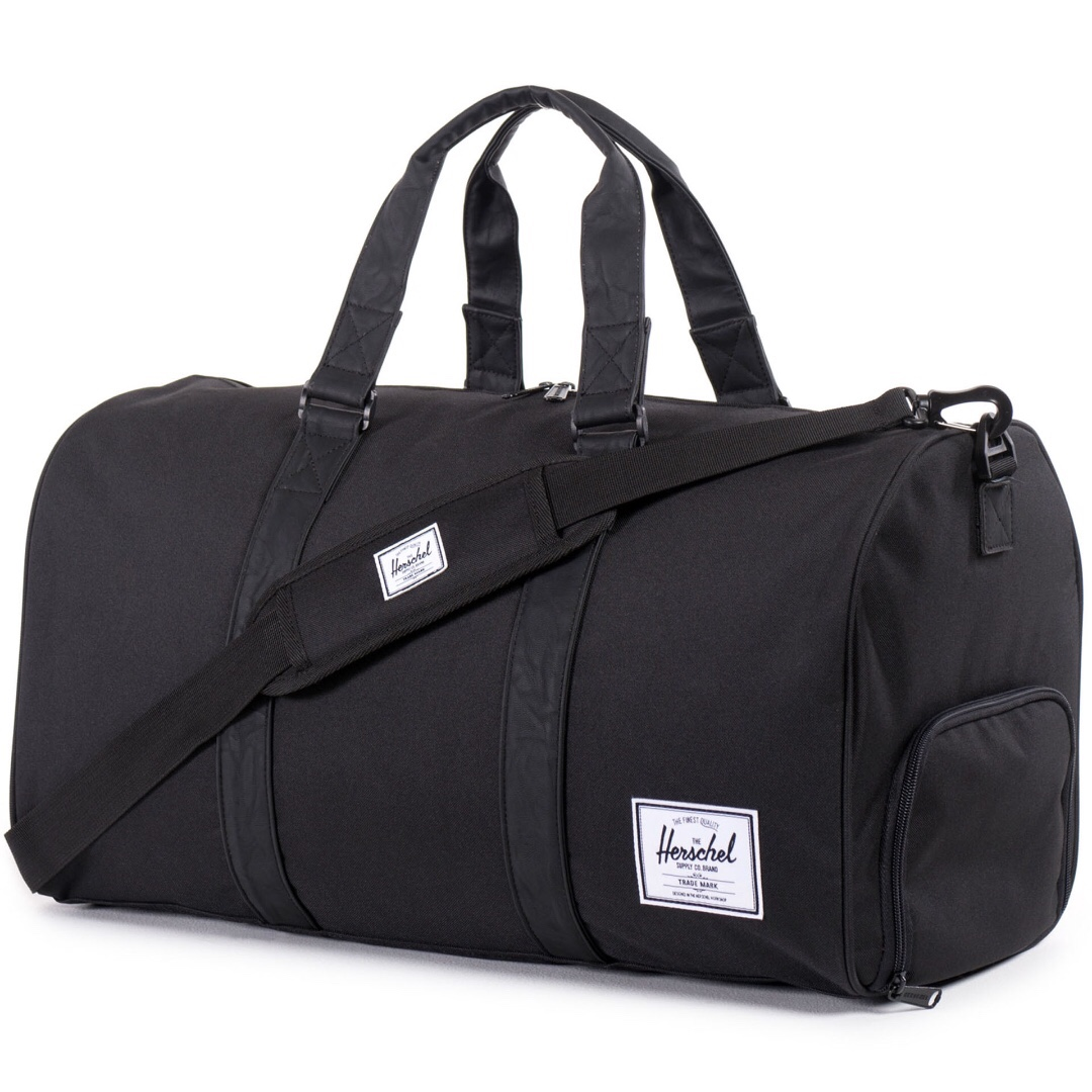 a85e0afab511 Herschel Novel Duffle Black