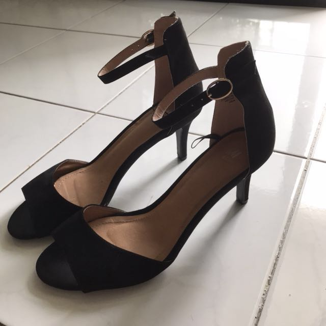 H&M Strappy Detail Mid Heels