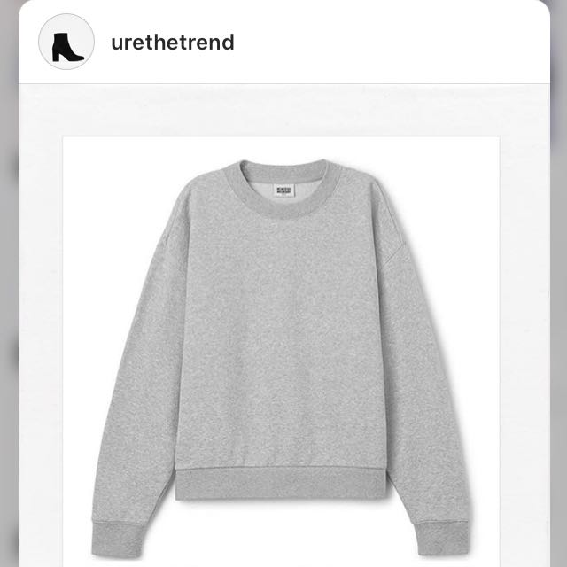 H&M SWEATSHIRT WEEKDAYS