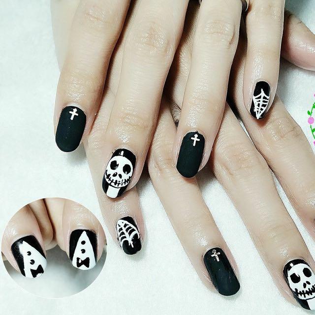 Home Based Nail Salon - Classic Gel Manicure & Nail Art Set, Health ...