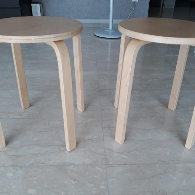 Ikea Frosta Stool 2pcs