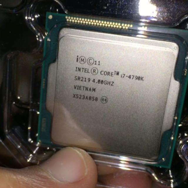 Intel 4790k
