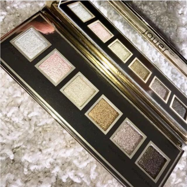 Jouer Skinny Dip Ultra Foil Shimmer Shadow Palette - (With Receipts to Verify Authenticity)