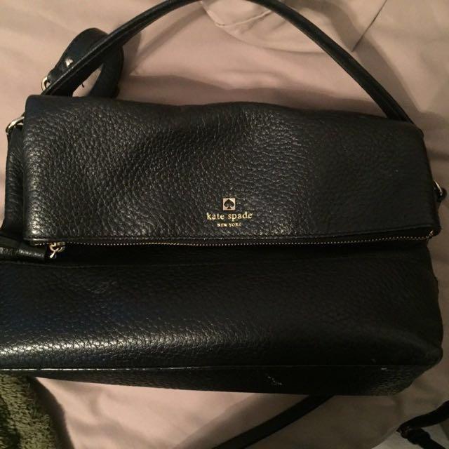 Kate Spade black purse + crossbody