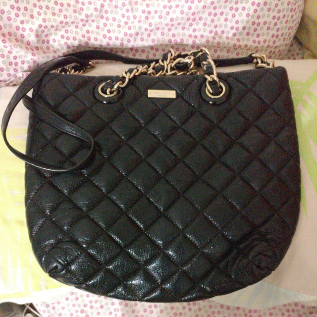 Kate Spade Quilted Shoulder Bag Luxury Bags Wallets On Carousell