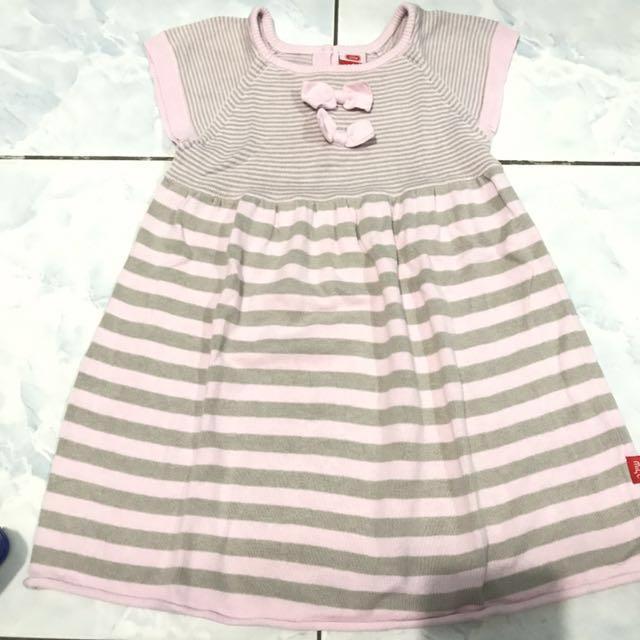 Korean knit dress