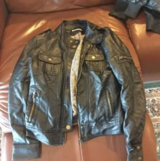 LEATHER JACKETS - FAKE AND REAL