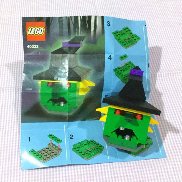 LEGO 40032: Witch (Halloween Theme)