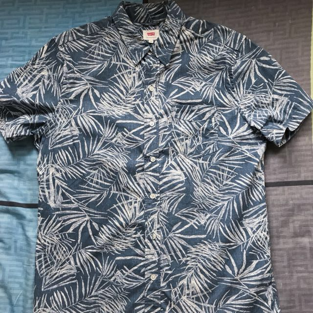 Levi's 短袖 襯衫 夏威夷襯衫 🏖️M號
