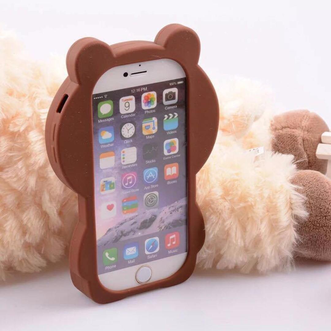 LINE FRIENDS BROWN 熊大立體殼 可直立 IPHONE系列 4.7吋螢幕專用 正版空運 二手現貨出清