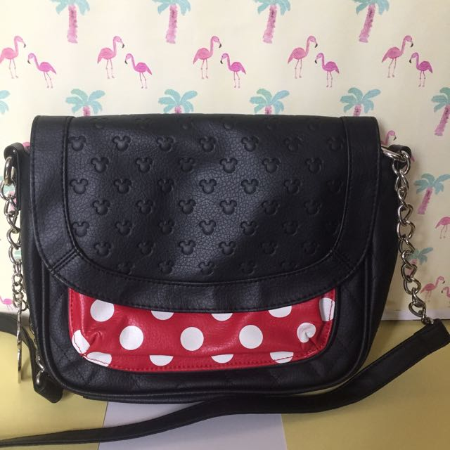 Loungefly minnie mouse shoulder bag