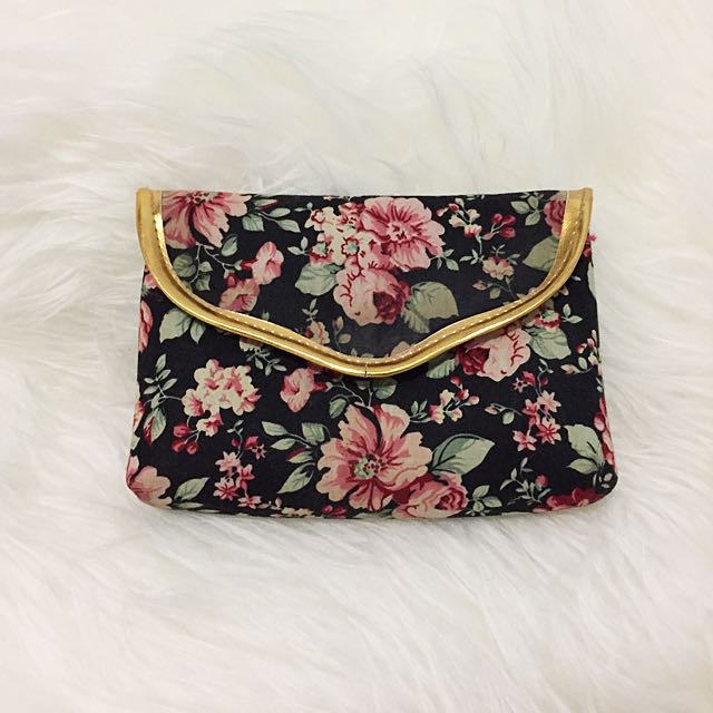 Makeup Pouch Flowers