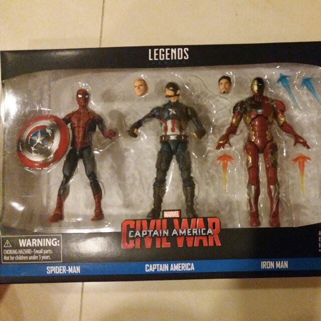 NEW in Unopened Box MARVEL Spider-Man 6 Inch Action Figure from Hasbro