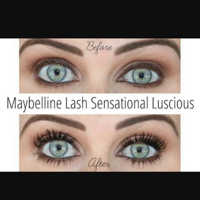 2ebf0b9cbb2 Maybelline Lash Sensational Luscious, Health & Beauty, Makeup on Carousell