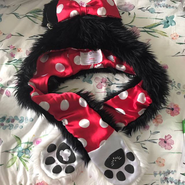 Minnie Mouse spirit hood (damaged)