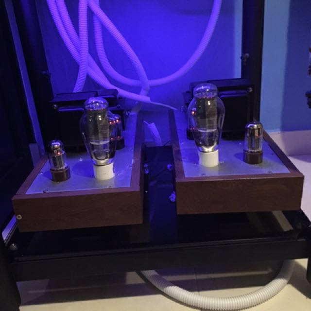 Mono block 300B Tube amplifier and with Tube amplifier
