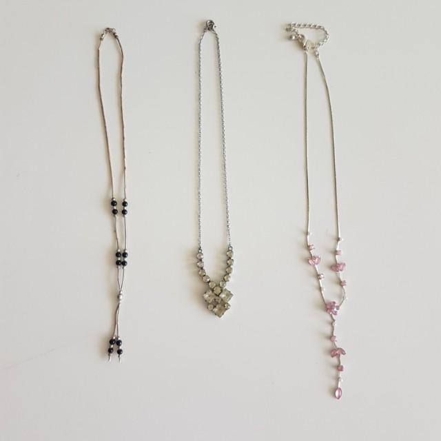 Necklets and Pendants (prices listed)