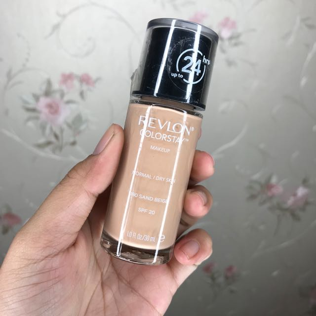 (NEW) Revlon Colorstay Foundation - Normal Dry 180 Sand Beige
