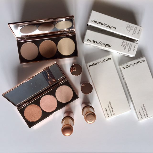 Nude By Nature highlight/contour Items