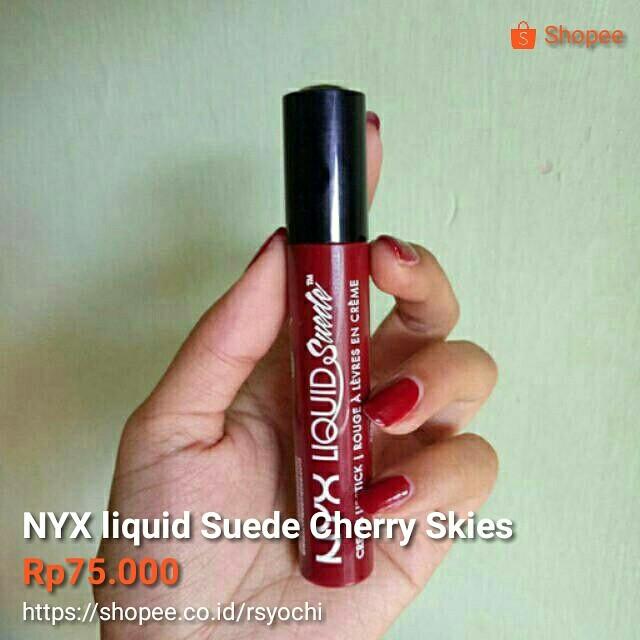 Nyx Suede Cherry Skies