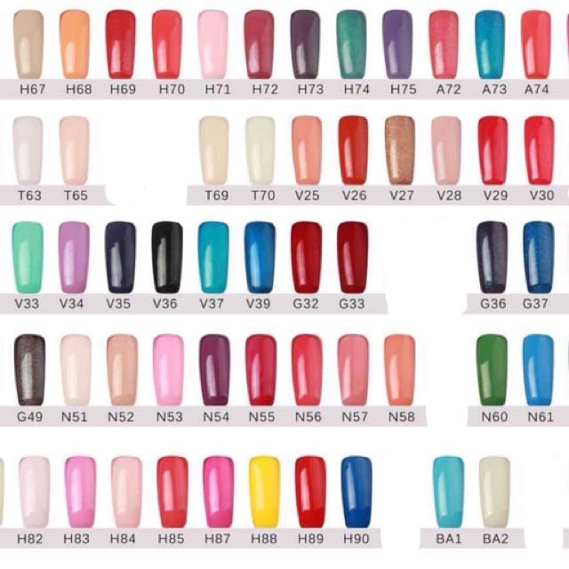 Opi Gel Polish, Health & Beauty, Nail Care, & Others on Carousell