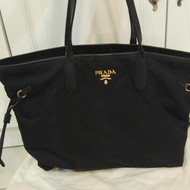 29dfa4ab07cf ORI Prada nylon handbag