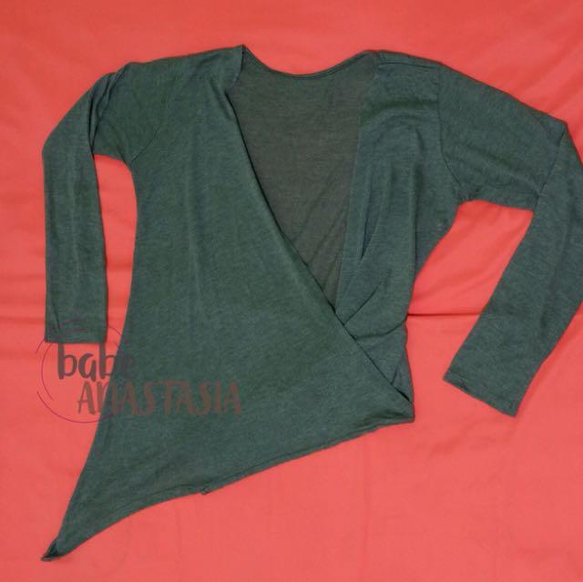 Outfit, cardigan, dapat 2 grey & black