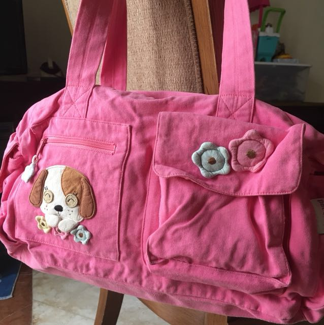 Pet Shop Pink Bag