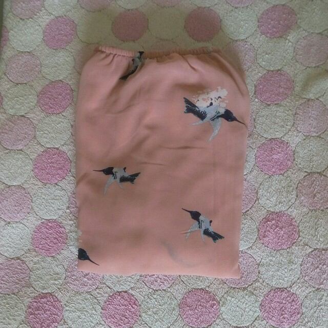 pinky bird blouse
