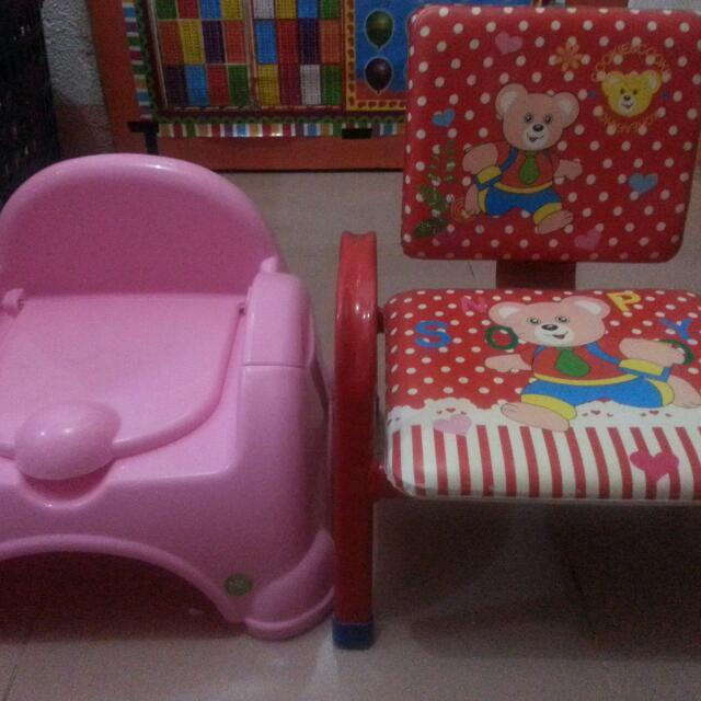 potty trainer and chair