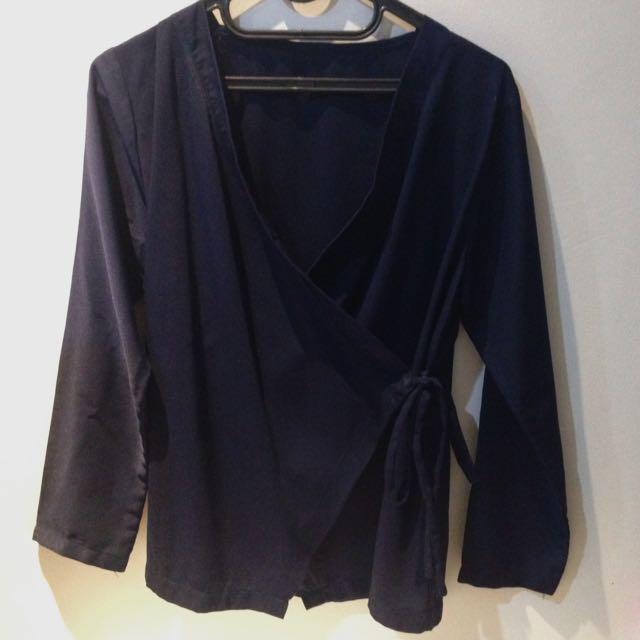 [PRELOVED] Kimono Navy