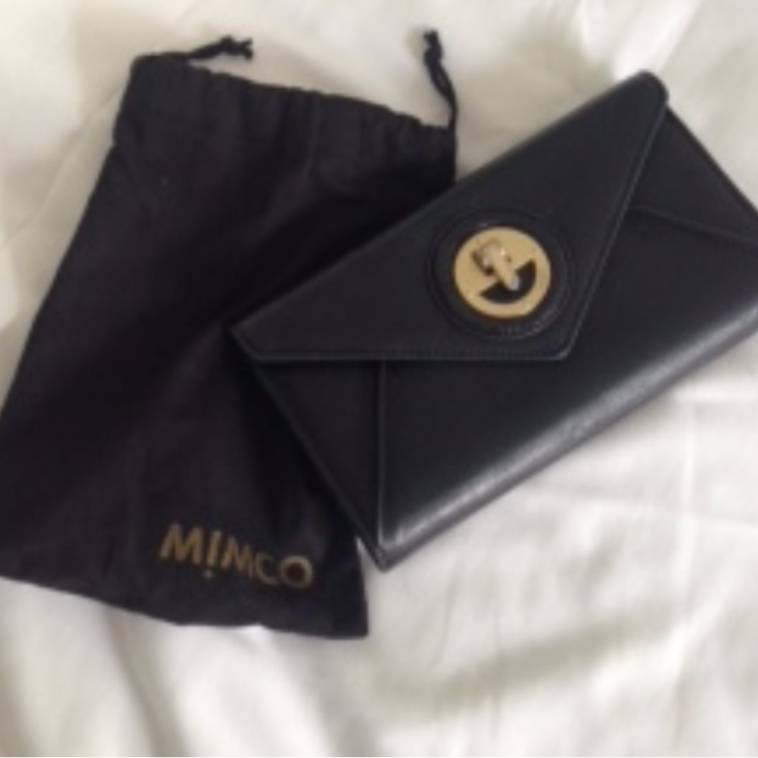 REDUCED - MIMCO REAL LEATHER WALLET
