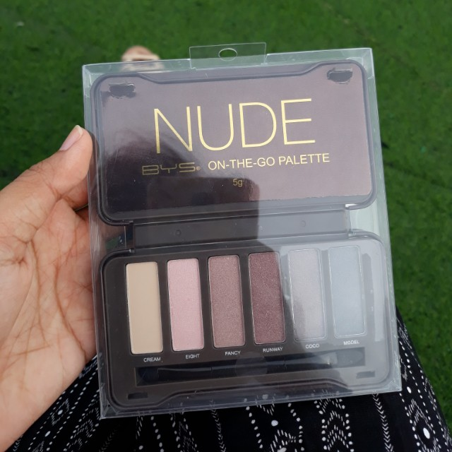 (Repriced) BYS Nude On the Go Palette