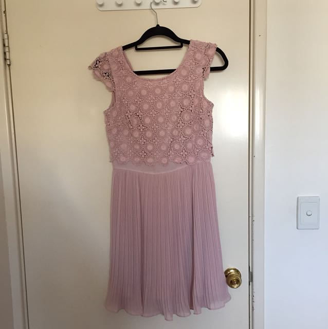 Review size 10 pink dress