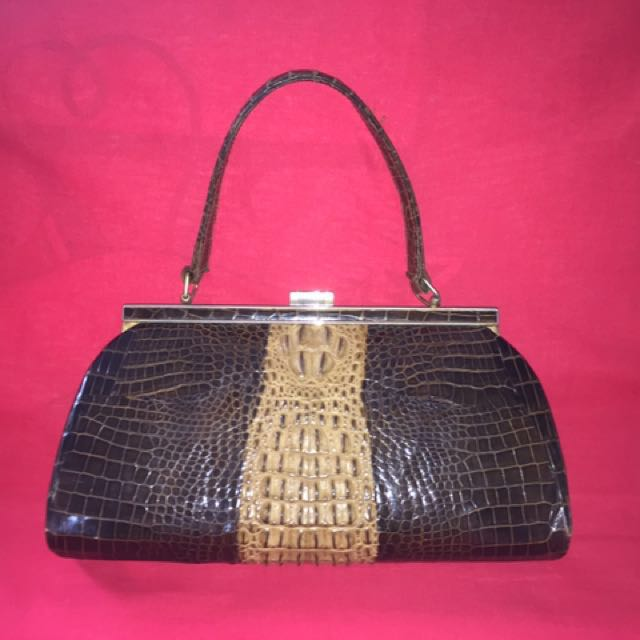 SALE!!! Genuine Crocodile Skin Bag