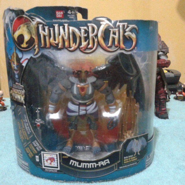 "SALE!!!Spiderman ""SANDMAN"" and Thundercats ""MUMM-RA"""