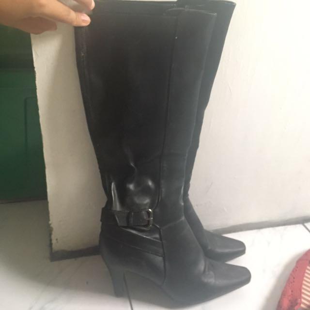 Sammy & Libby Black Boots